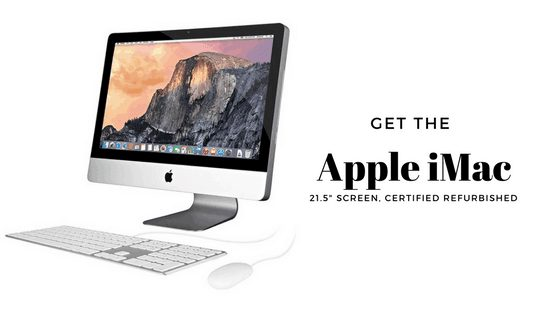 "apple imac refurbished 21.5"" cheap"