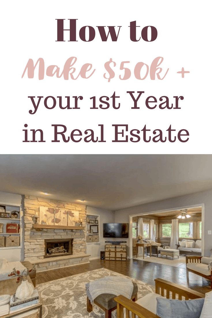 First year real estate agent salary