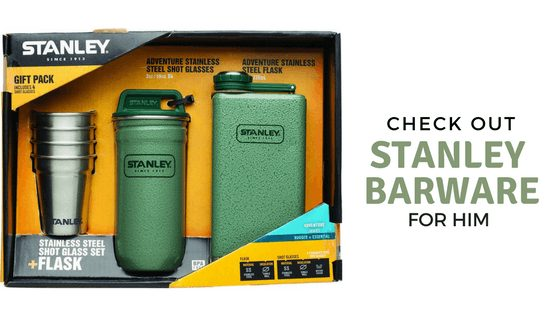 stanley barware set last minute valentine's day gift ideas