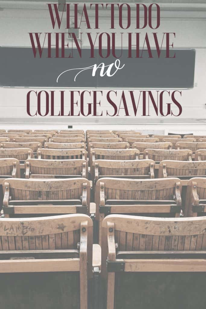 no college savings