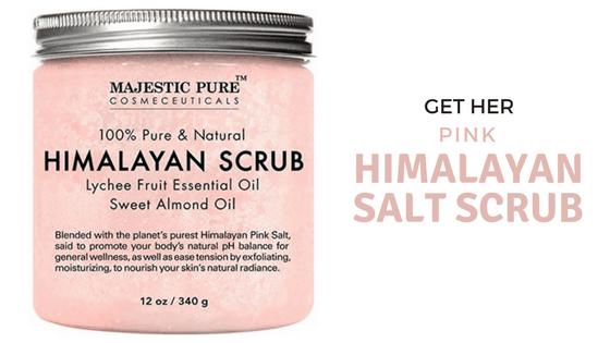 pink himalayan salt scrub valentine's day last minute gift ideas