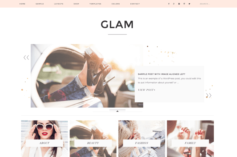 How to Start a Blog Glam Restored 316