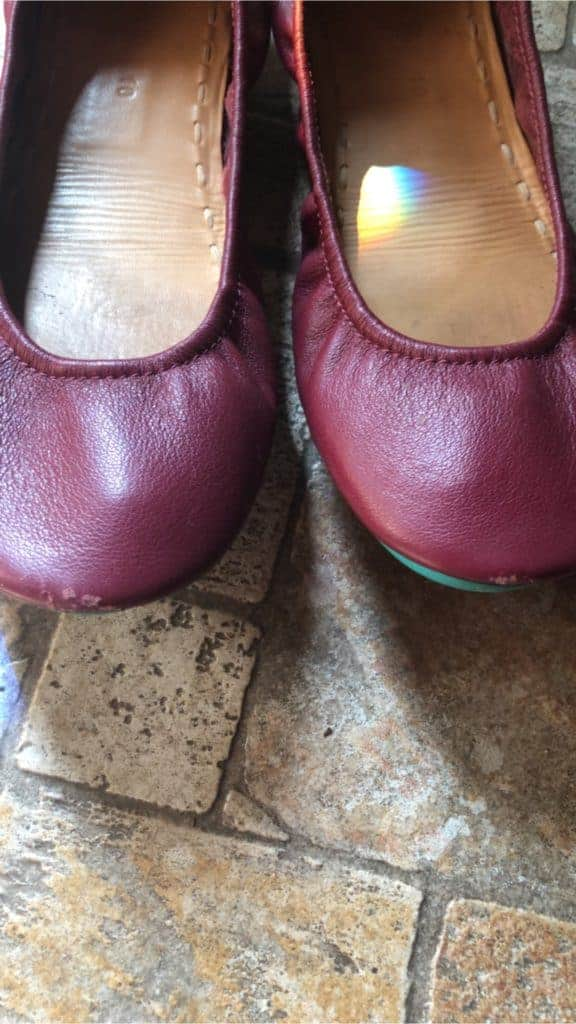 Tieks Review: Problems with Scuffs