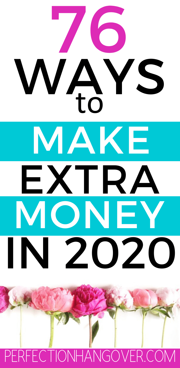 76 Ways to Make Extra Money in 2020