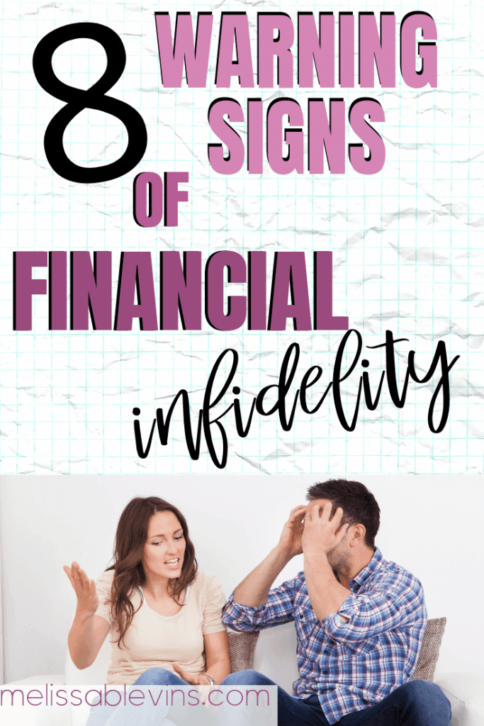8 Warning Signs of Financial Infidelity