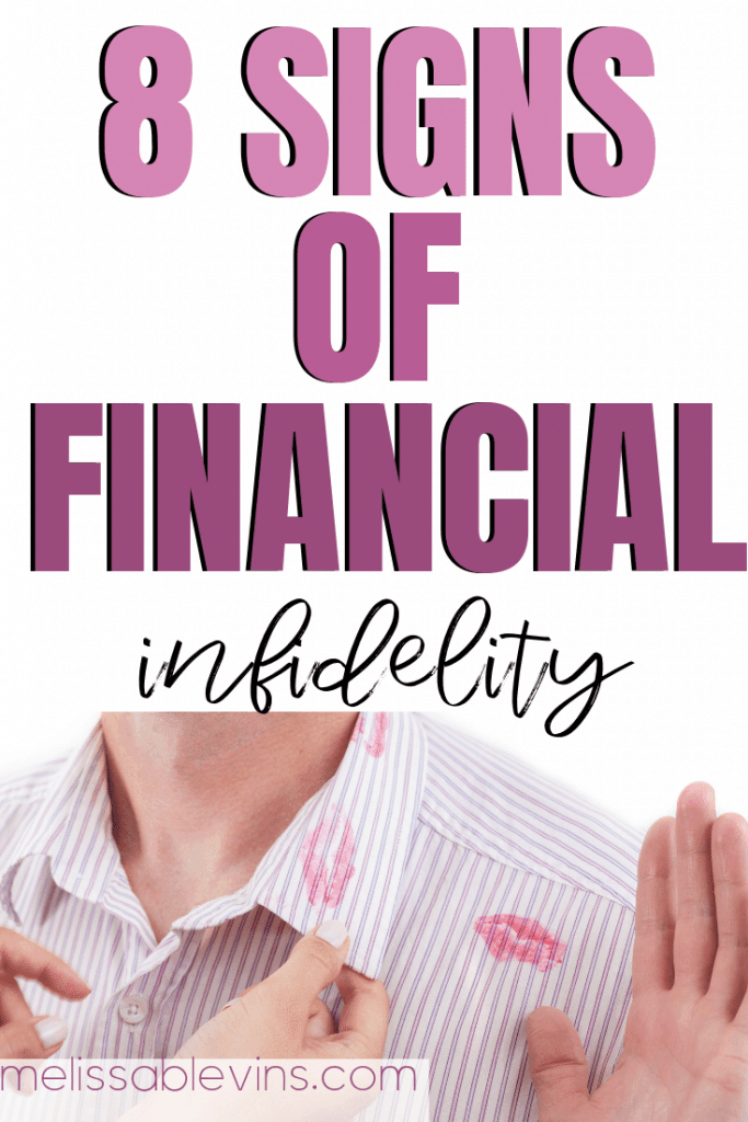 8 Signs of Financial Infidelity