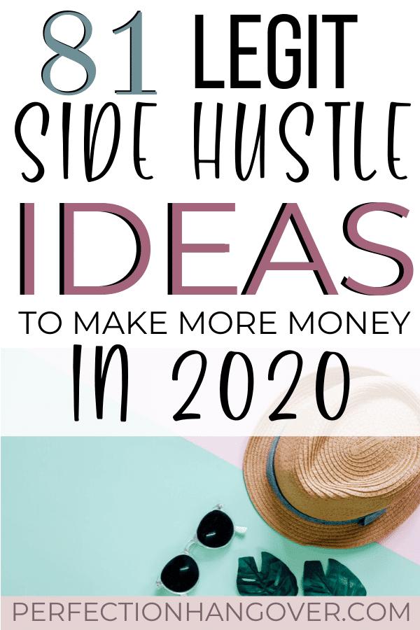 81 Legit Side Hustle Ideas to Make Extra Money in 2020