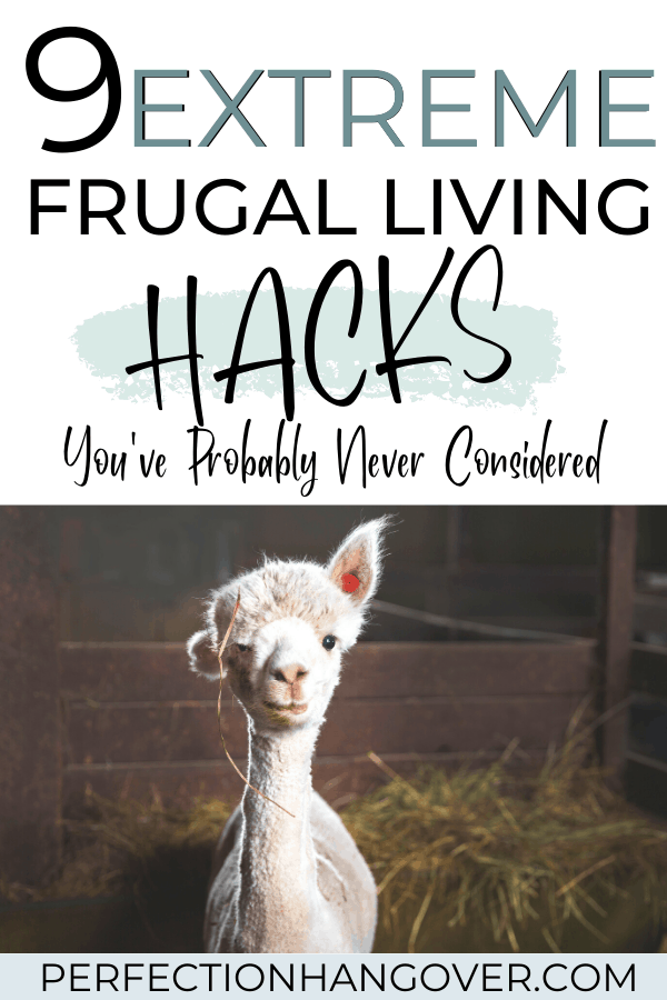 9 Extreme Frugal Living Hacks and Ideas You've Never Considered