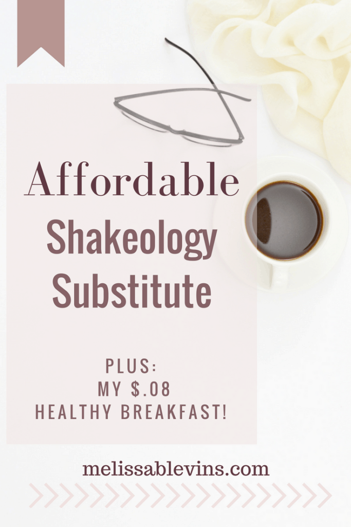 shakeology substitute