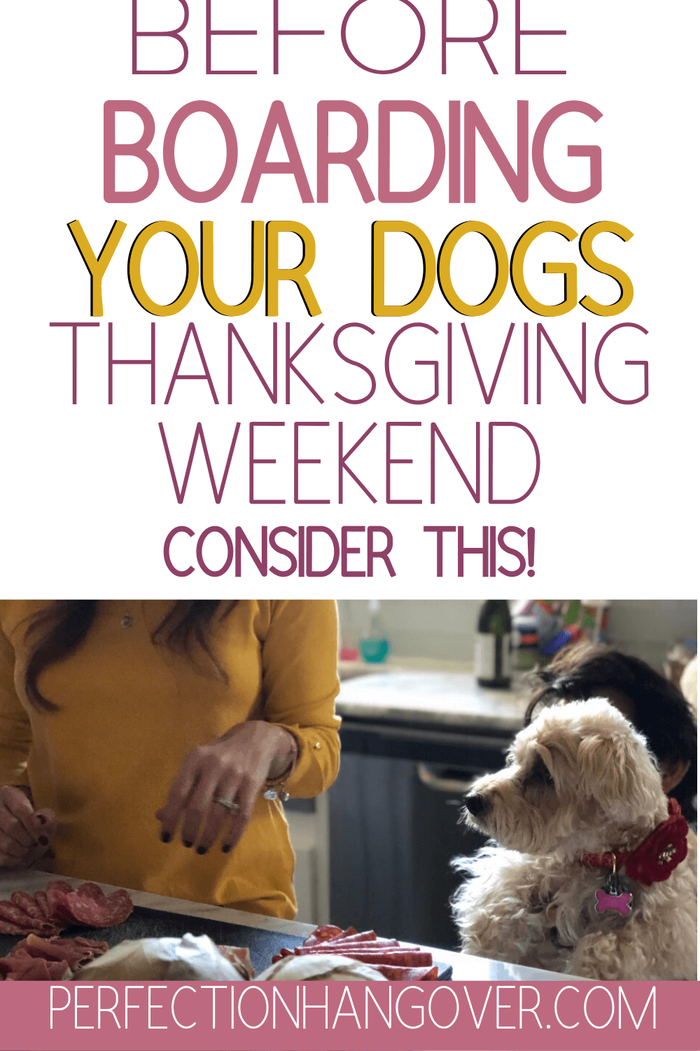 Before You Board Your Dogs Thanksgiving Weekend