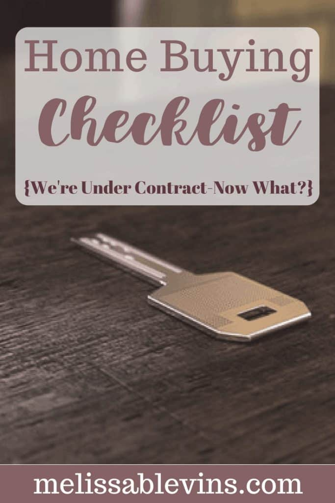 home buying checklist what happens in escrow