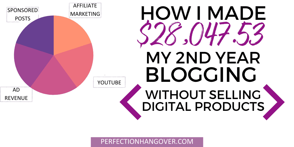 How I Made $29,000 Blogging Without Selling Digital Products