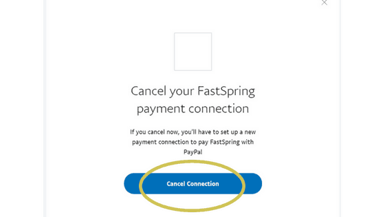 How to Cancel Boardbooster on Paypal step 4