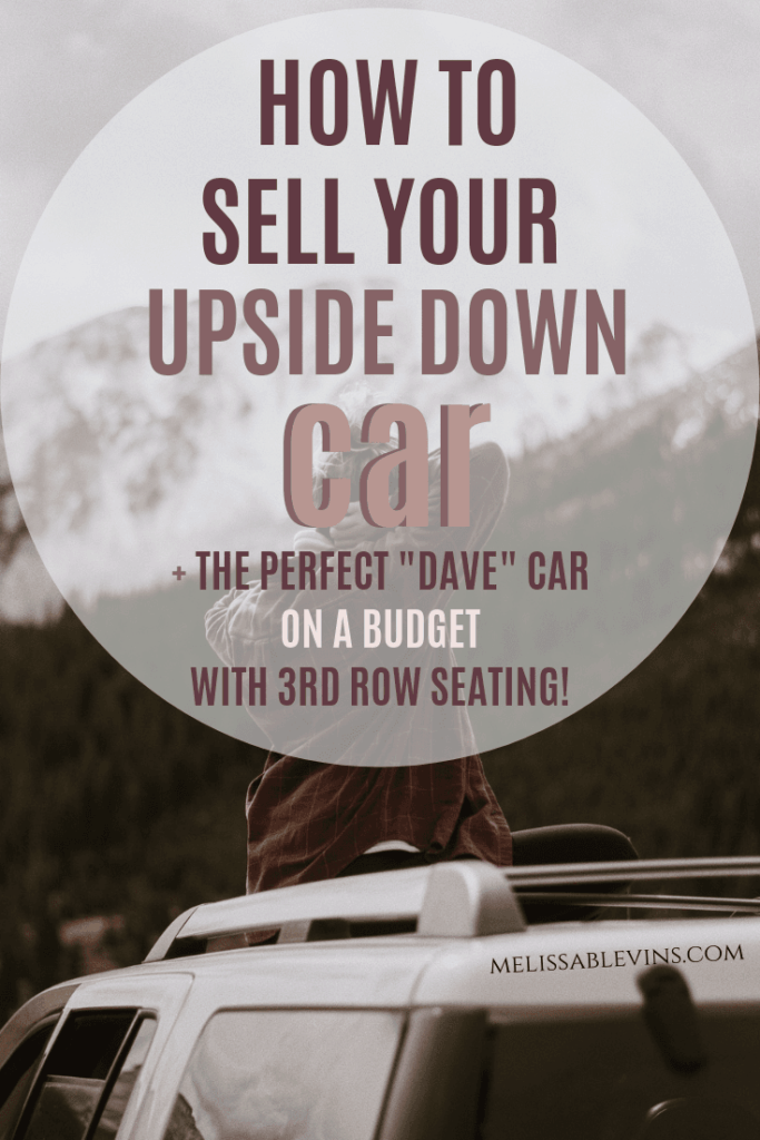 How to Sell an Upside Down Car