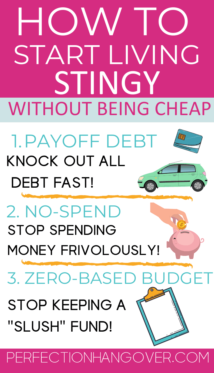 How to Start Living Stingy