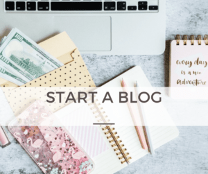 Start a Money-Making Blog