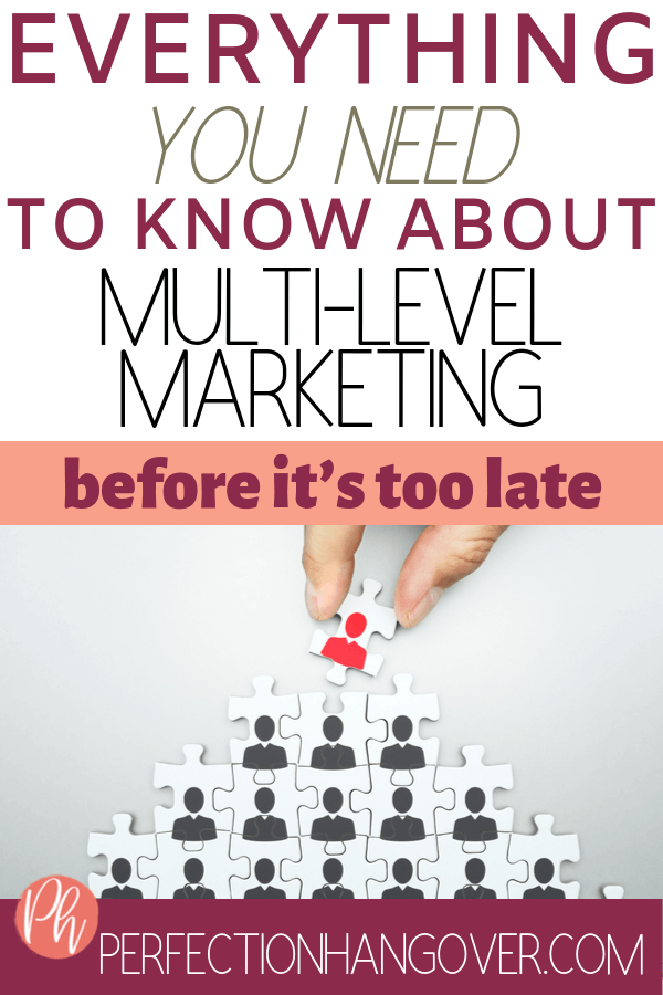 Multi-Level Marketing MLM Pyramid Scheme antiMLM