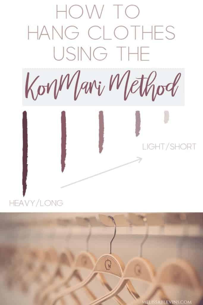 KonMari Marie Kondo Closet Wardrobe Tips