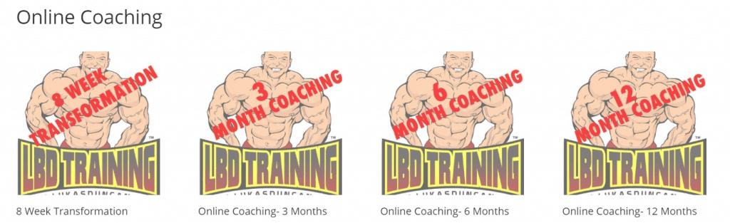 LBD Training Plans