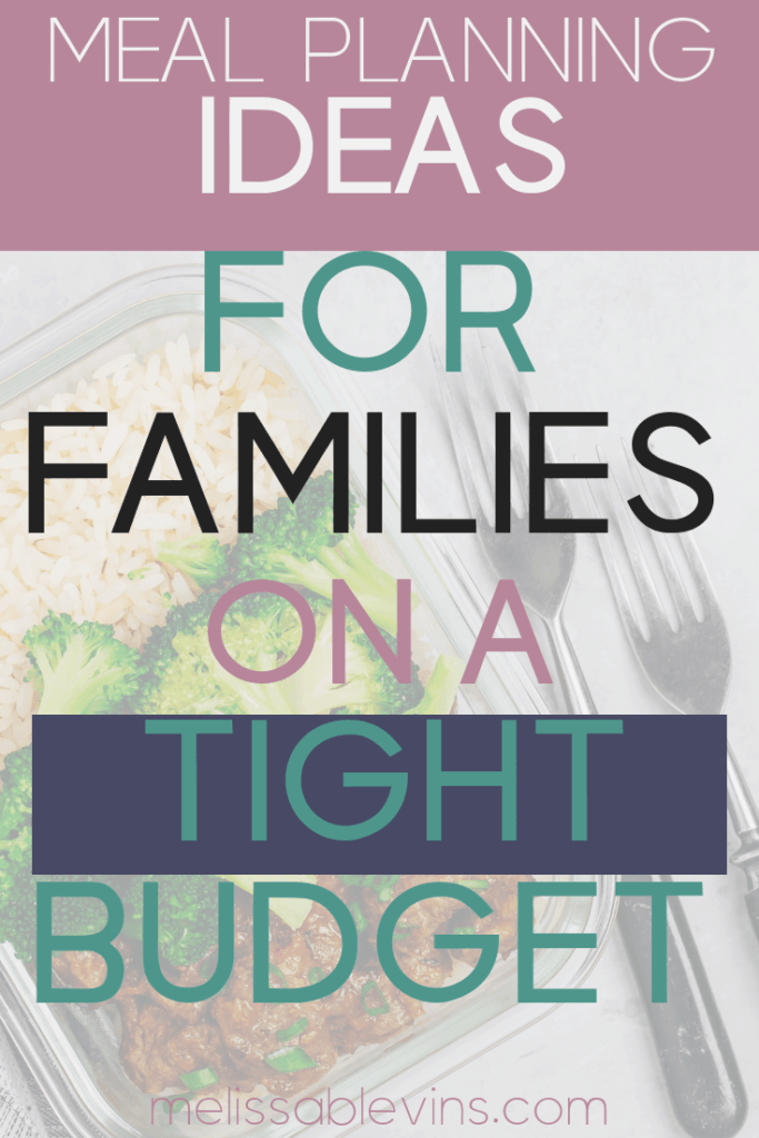 Meal Planning Ideas for Families on a Tight Budget
