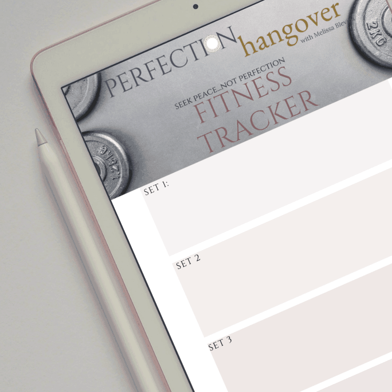 Perfection Hangover Fitness Tracker
