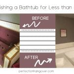 Refinishing a Bathtub: Step by Step with Before, During and After Photos