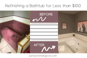 Refinishing a Bathtub Step by Step