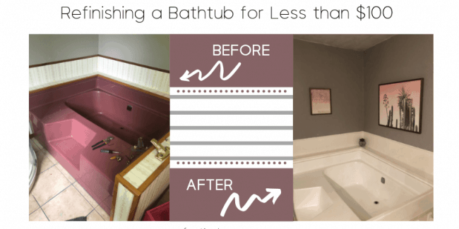 Refinishing a Bathtub Step by Step