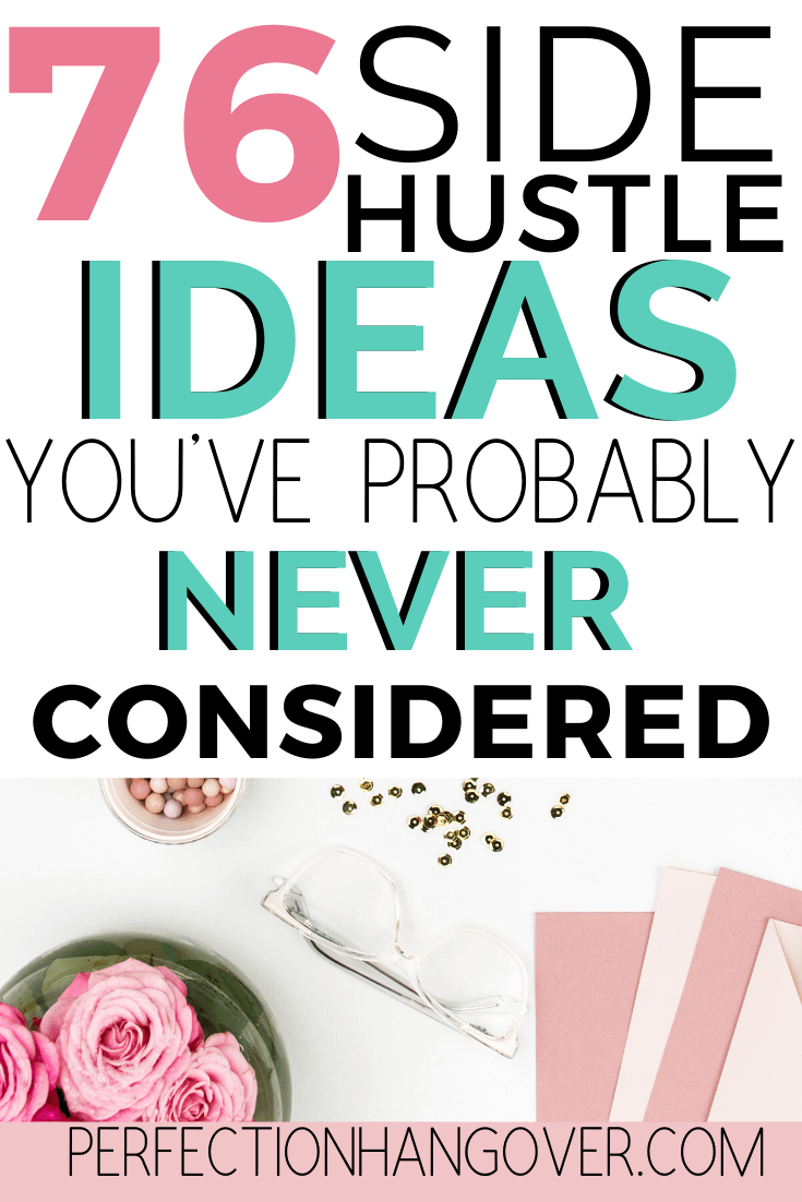 Side Hustle Ideas to Make Extra Money in 2020