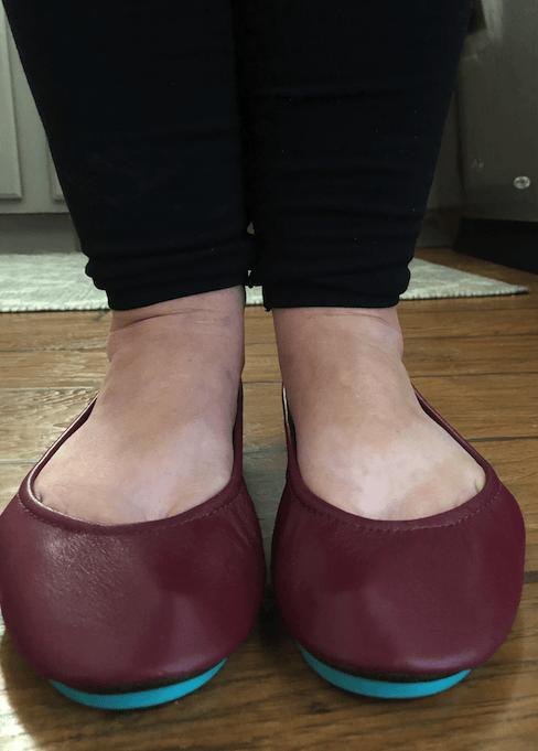 Tieks toe box uncomfortable