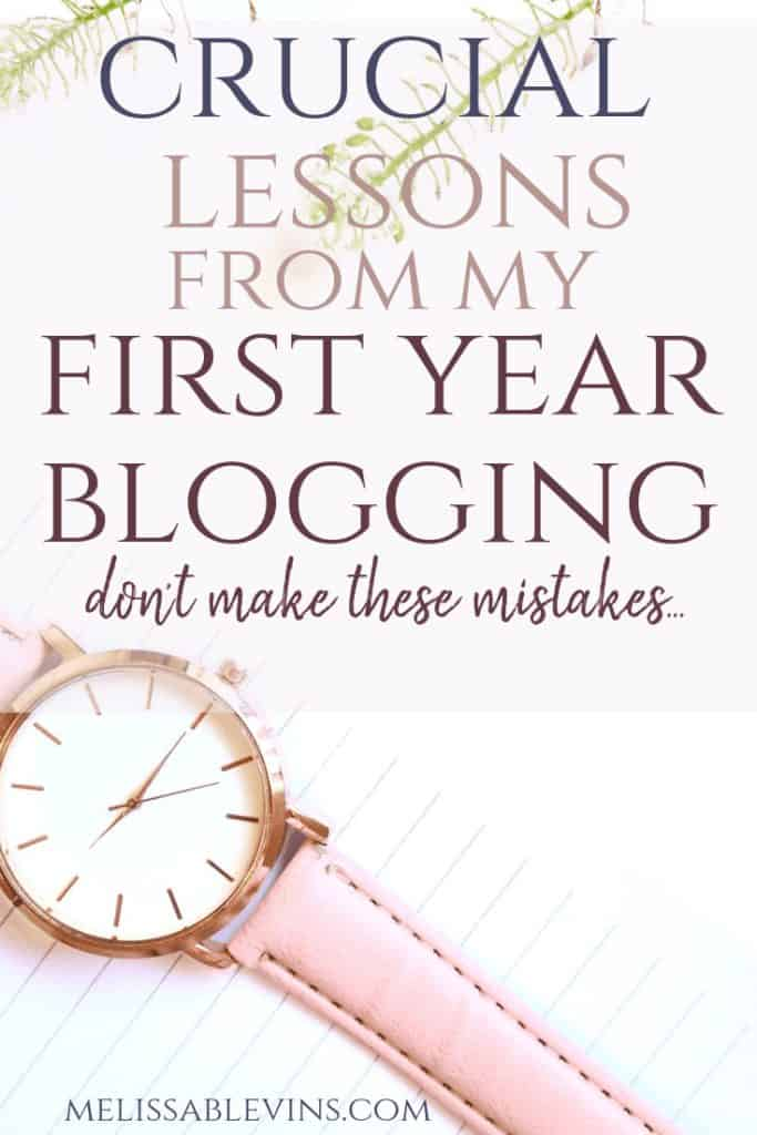 blogging anniversary