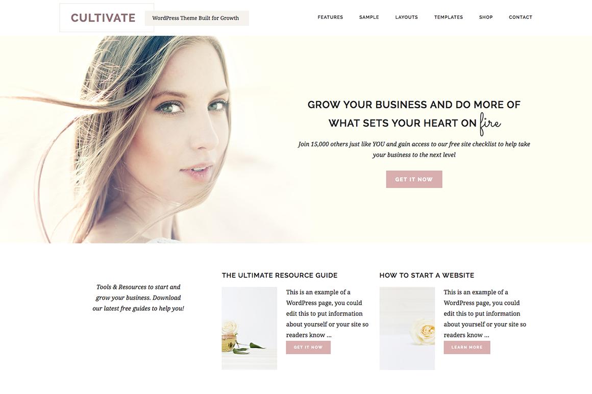 restored 316 cultivate theme