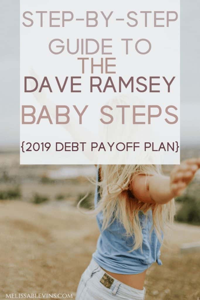 dave ramsey baby steps debt payoff plan