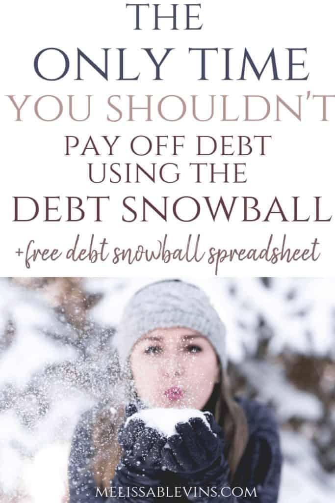 debt snowball method 2