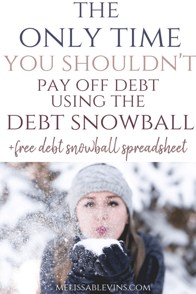 debt snowball method 2
