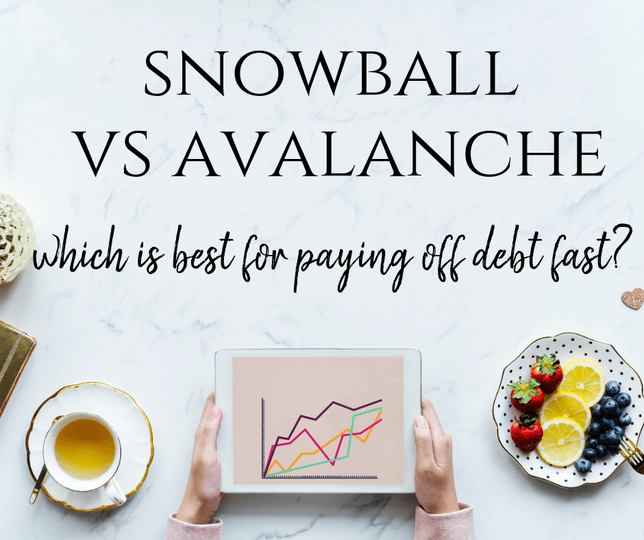 debt snowball vs debt avalanche which is best for paying off debt fast