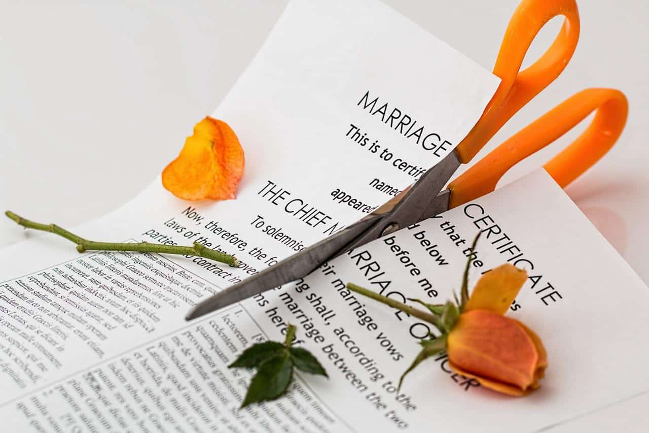preparing for divorce financially