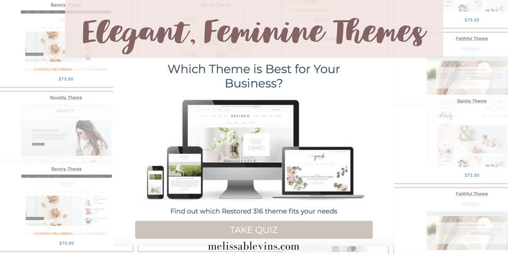 restored 316 themes quiz feminine wordpress themes