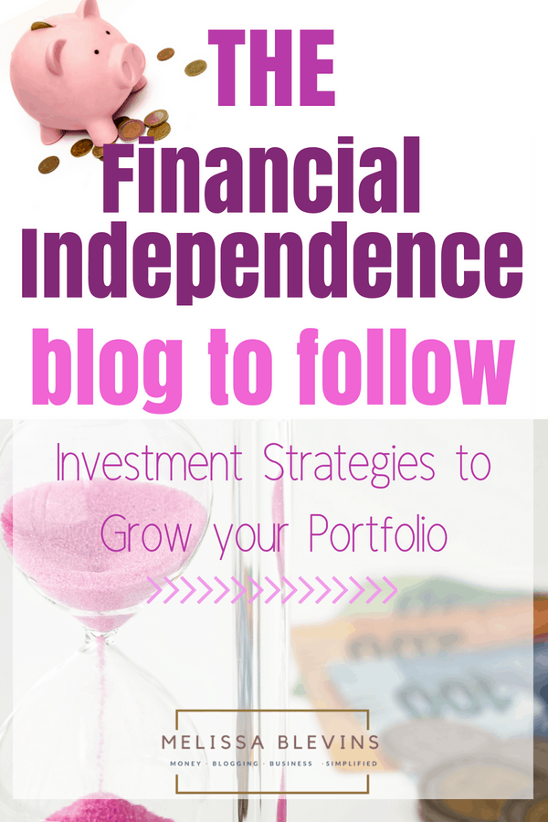 financial independence blog
