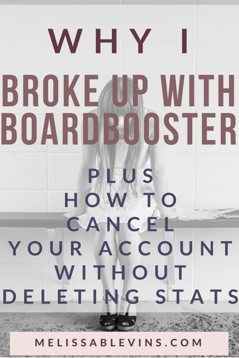 how to cancel boardbooster