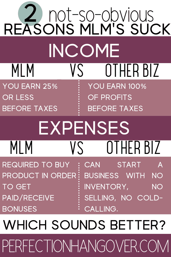 Multi-Level Marketing Pyramid Scheme Infographic
