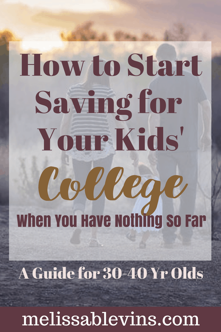 no college savings in your 40's