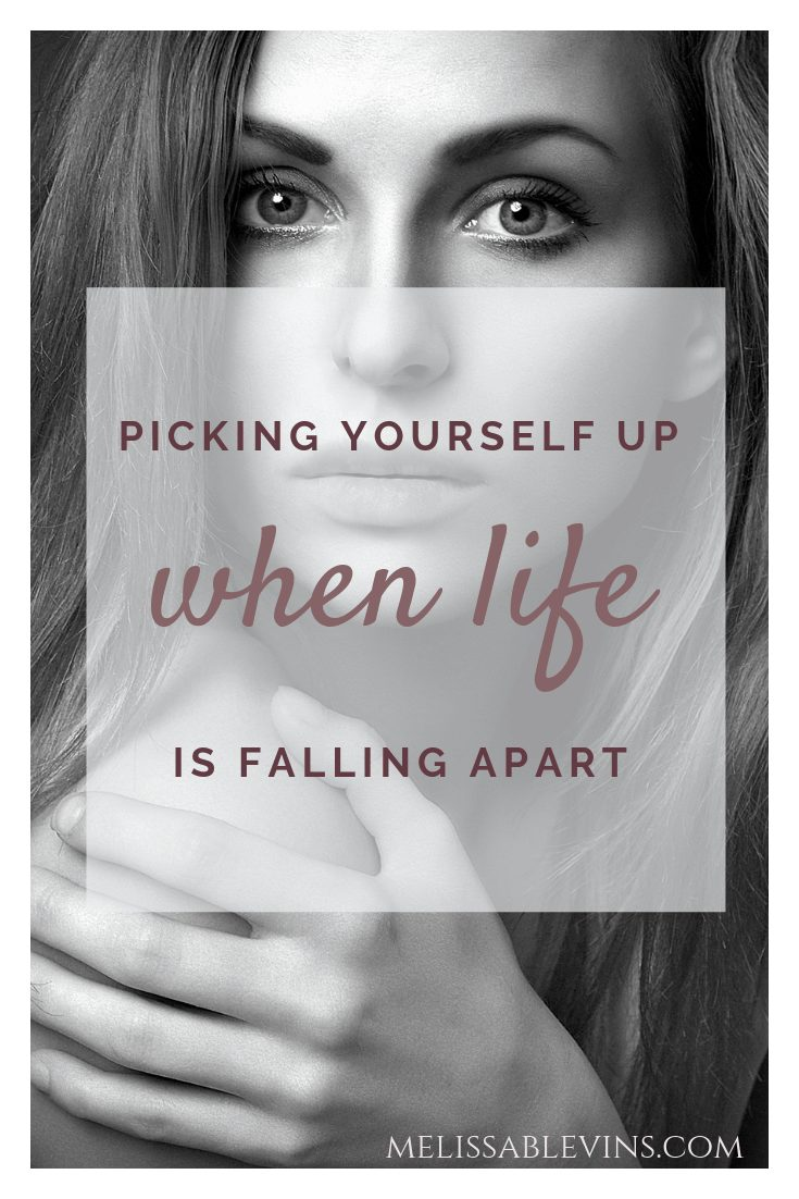 picking yourself up