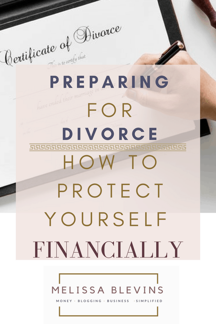 preparing for divorce how to protect yourself financially