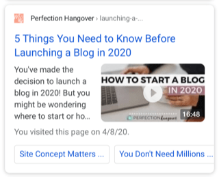 launching a blog in 2020