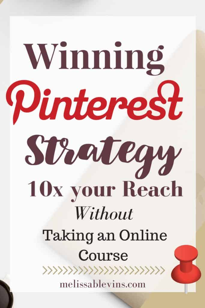winning pinterest strategy for blogs
